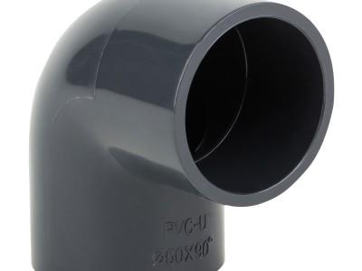 Колено ПВХ 50 мм/90°