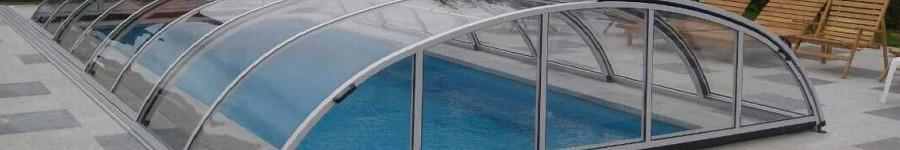 Низкий павильон для бассейна Abris