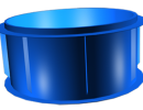 Полипропиленовый бассейн круглый d2,0м