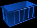 Полипропиленовая купель 1,4х1,4м