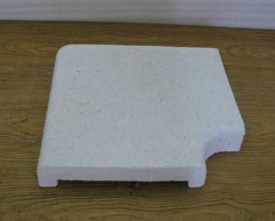 Копинговый бордюрный камень угловой П-образный 300 мм