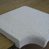 Бордюрный копинговый угловой Г-образный камень 280 мм