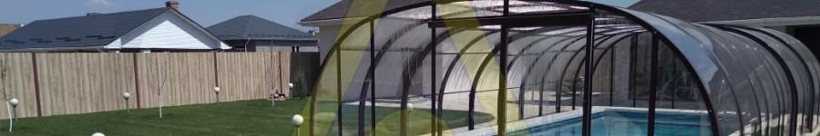 Высокий павильон для бассейна Aluten P-03