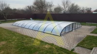 Низкий павильон для бассейна Aluten P-01