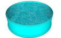 Полипропиленовый бассейн круглый диаметром от 3-х метров