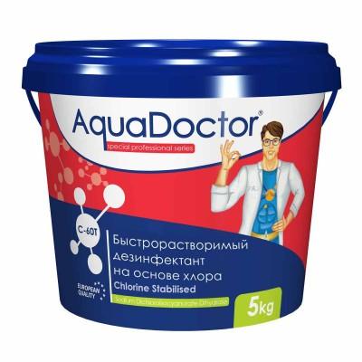 Быстрый хлор в таблетках AquaDoctor C-60T