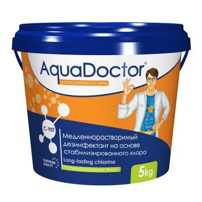 Медленный хлор в таблетках AquaDoctor C-90T