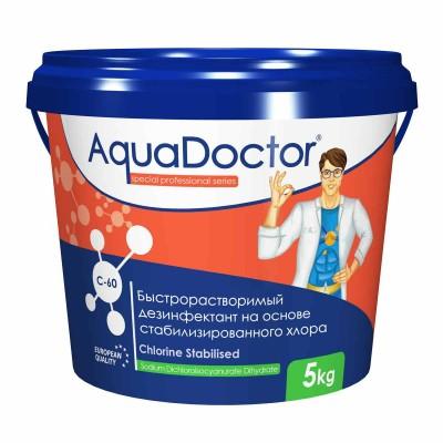 Быстрый хлор в гранулах AquaDoctor C-60