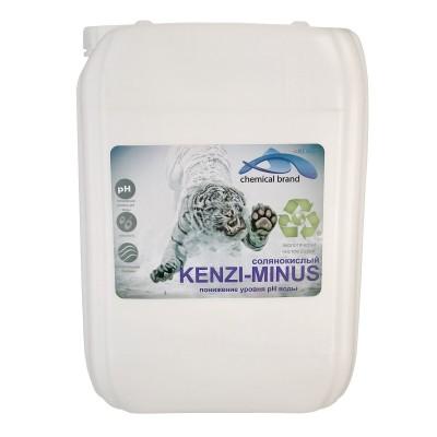 Снижение уровня pH жидкое Kenaz Kenzi-Minus (солянокислый 14%)
