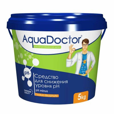 Cнижение уровня pH AquaDoctor pH Minus