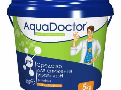Снижение уровня pH AquaDoctor pH Minus