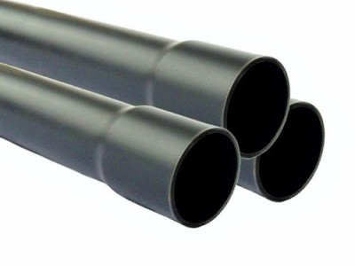 Труба ПВХ клеевая, 6 атм, раструбная